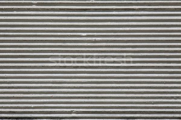 Blanche stuc vieux mur rêche Photo stock © MiroNovak