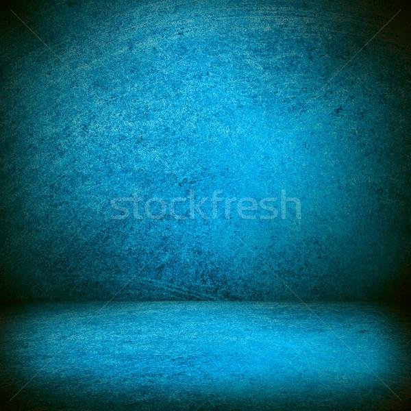 Blauw textuur fase ruimte kleur ontwerp Stockfoto © MiroNovak