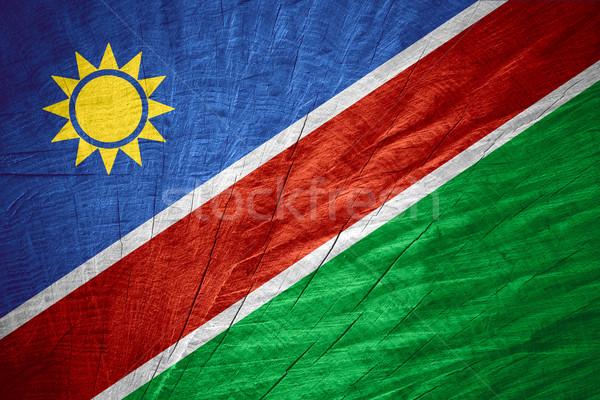 flag of Namibia Stock photo © MiroNovak
