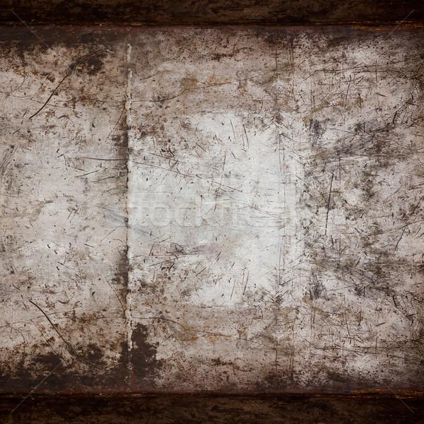 ржавые стали Vintage металлической текстуры стены фон Сток-фото © MiroNovak