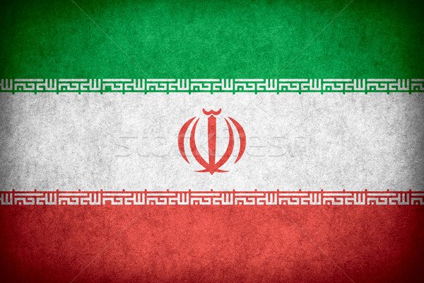 flag of Iran Stock photo © MiroNovak