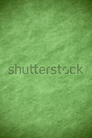 Abstract doek groene grid patroon textuur Stockfoto © MiroNovak