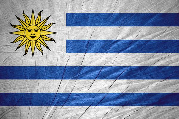 флаг Уругвай баннер текстуры Сток-фото © MiroNovak