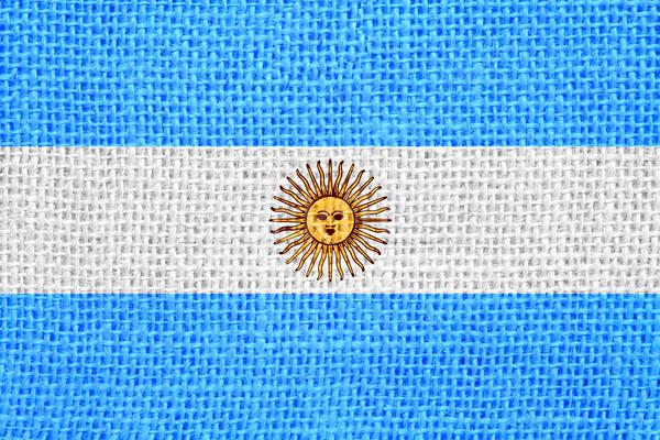 flag of Argentina Stock photo © MiroNovak