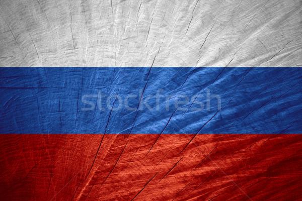 флаг Россия русский баннер текстуры Сток-фото © MiroNovak