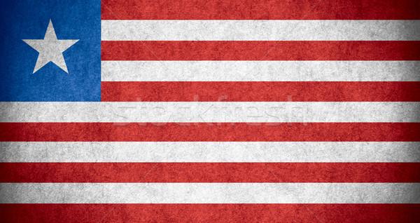 flag of Liberia Stock photo © MiroNovak