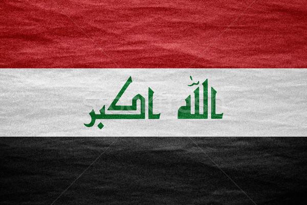 flag of Iraq Stock photo © MiroNovak