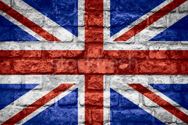 flag of Great Britain Stock photo © MiroNovak