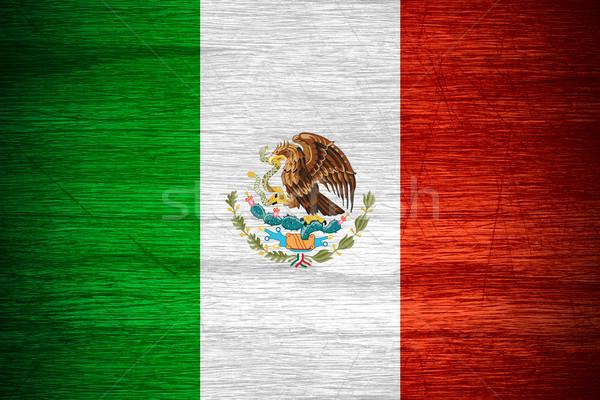 Mexico flag Stock photo © MiroNovak