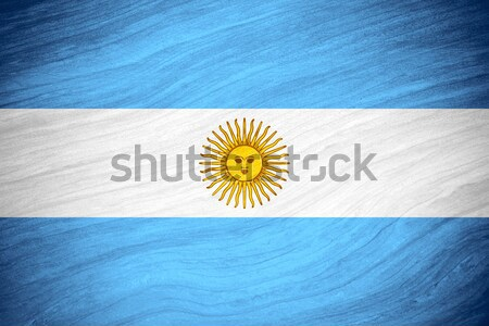 Argentina flag Stock photo © MiroNovak