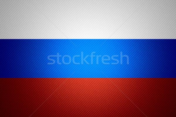 flag of Russia Stock photo © MiroNovak