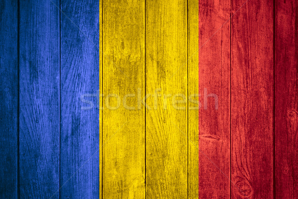 flag of Chad Stock photo © MiroNovak