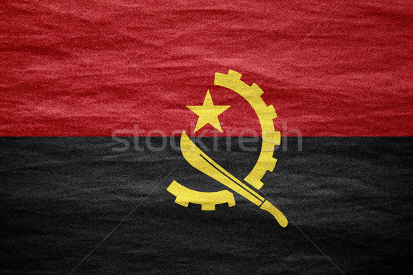 flag of Angola Stock photo © MiroNovak