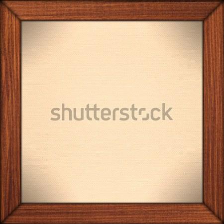 Kâğıt kahverengi ahşap çerçeve sepya kırtasiye doku Stok fotoğraf © MiroNovak