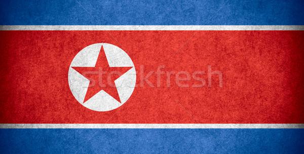 flag of North Korea Stock photo © MiroNovak
