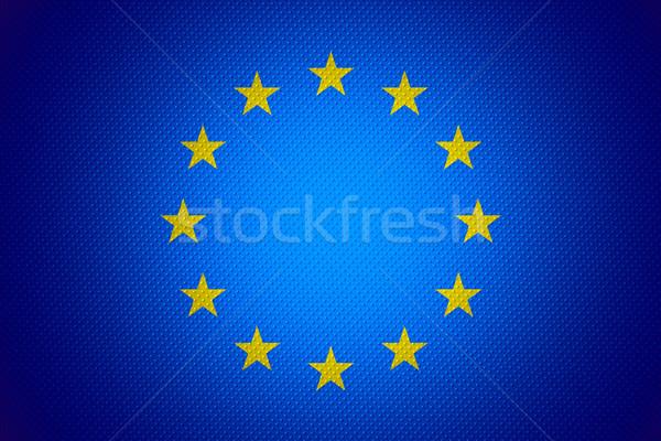 flag of European Union Stock photo © MiroNovak