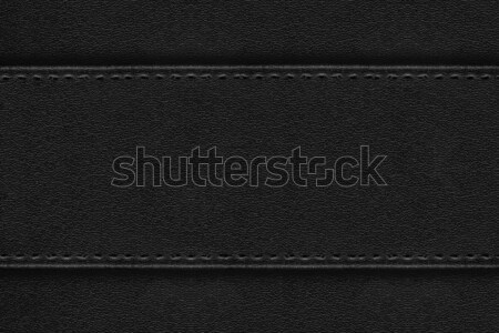 black leather background Stock photo © MiroNovak