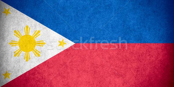 flag of Philippines Stock photo © MiroNovak