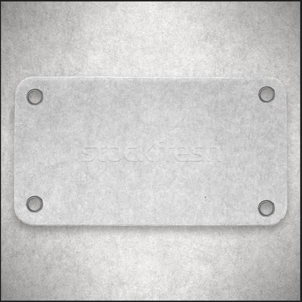 Branco cartão abstrato etiqueta textura do papel Foto stock © MiroNovak