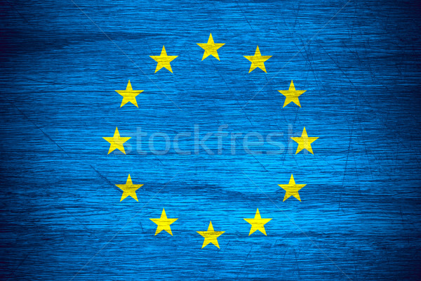 flag of European Union Stock photo © MiroNovak