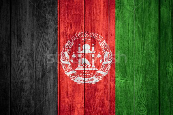 flag of Afghanistan Stock photo © MiroNovak
