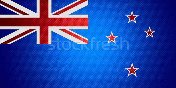 Vlag New Zealand banner abstract textuur Stockfoto © MiroNovak