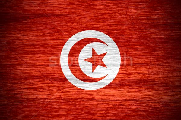 flag Tunisia Stock photo © MiroNovak