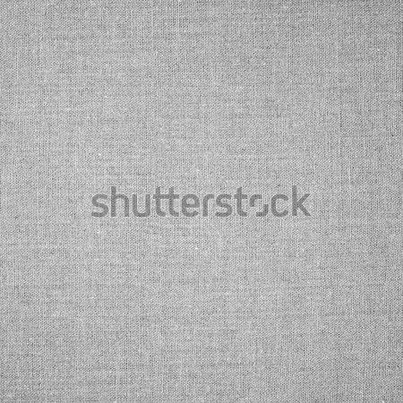 Fehér absztrakt vászon hálózat minta textil Stock fotó © MiroNovak