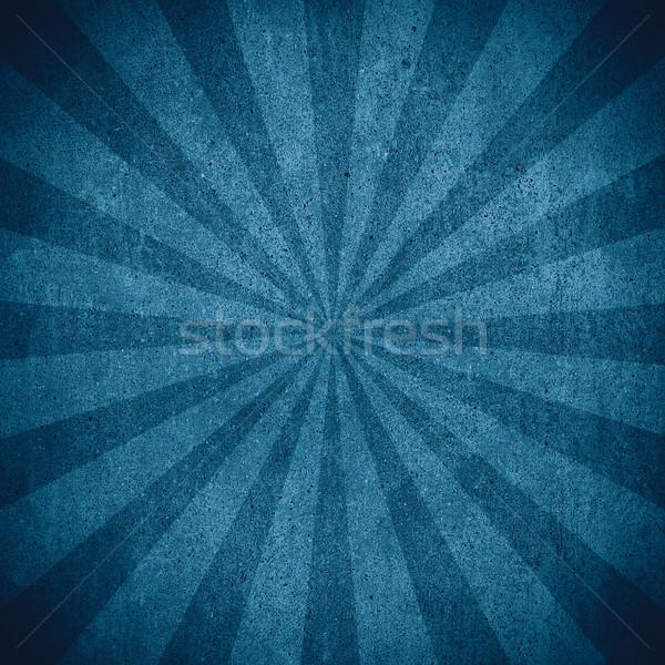 Kék absztrakt fekete cement minta textúra Stock fotó © MiroNovak