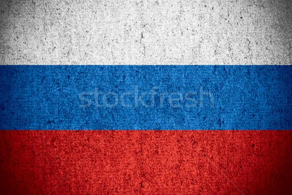 flag of Russia Federation Stock photo © MiroNovak