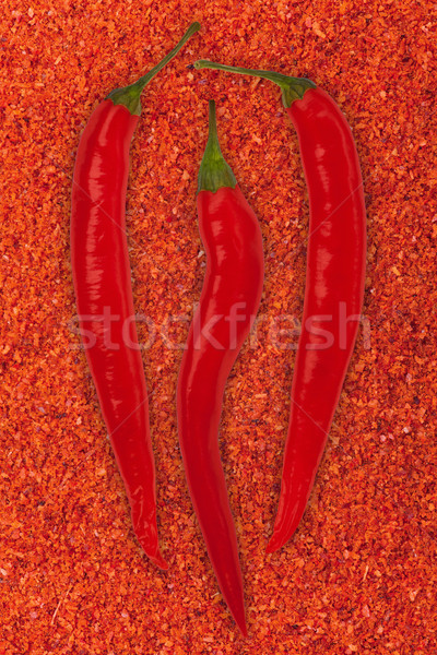 red chili pepper Stock photo © MiroNovak