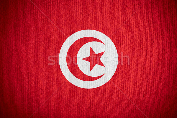 flag of Tunisia Stock photo © MiroNovak