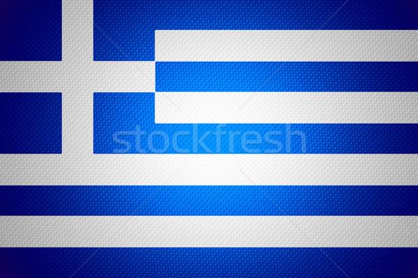 flag of Greece Stock photo © MiroNovak