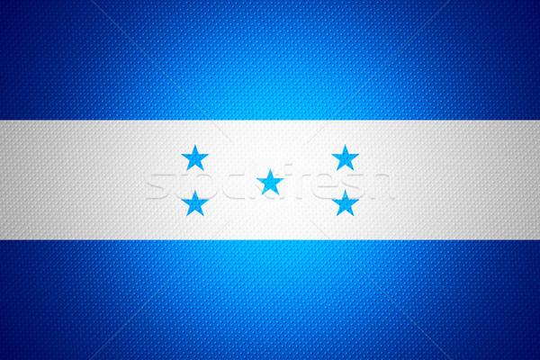 Bandeira Honduras bandeira abstrato textura Foto stock © MiroNovak