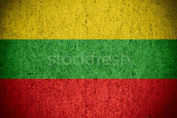 flag of Lithuania Stock photo © MiroNovak