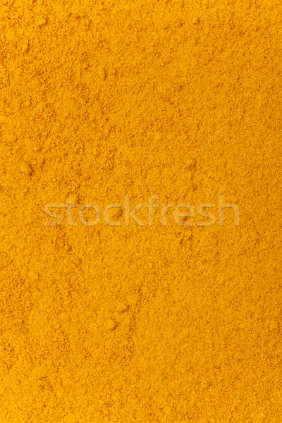turmeric powder background Stock photo © MiroNovak