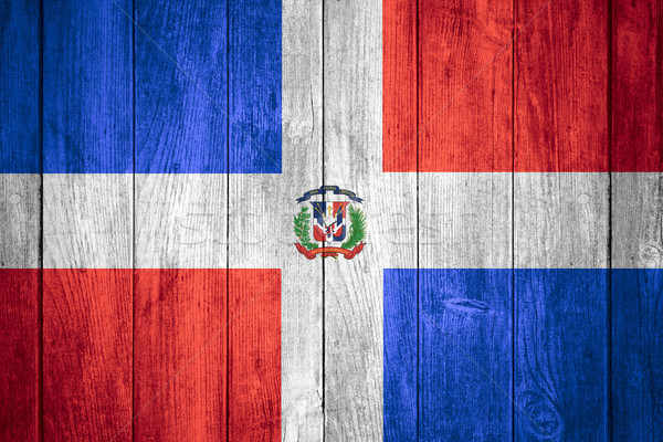flag of Dominican Republic Stock photo © MiroNovak