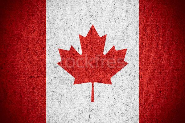 flag of Canada Stock photo © MiroNovak