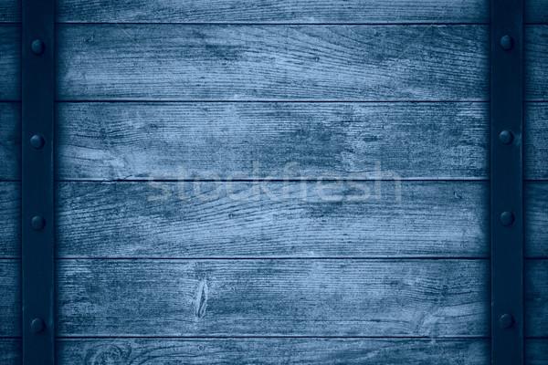 Foto stock: Azul · cor · cinza · textura