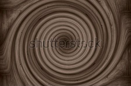 Barna örvény örvény csíkok minta textúra Stock fotó © MiroNovak