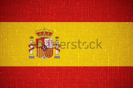 flag of Spain Stock photo © MiroNovak