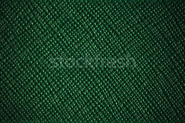 Verde couro grade padrão abstrato textura Foto stock © MiroNovak