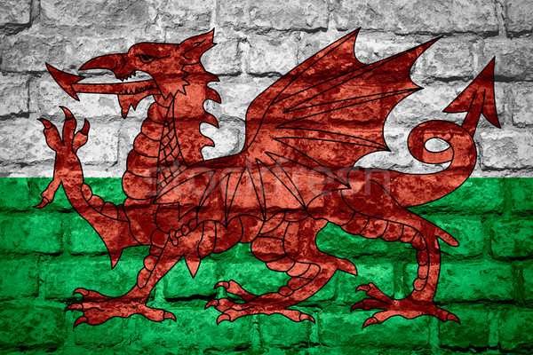 flag of Wales Stock photo © MiroNovak