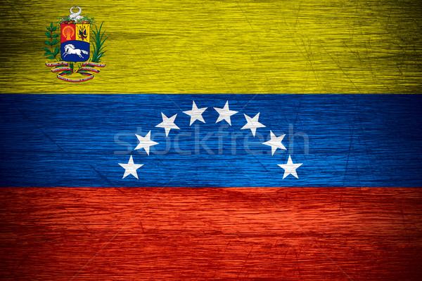 Venezuela flag Stock photo © MiroNovak