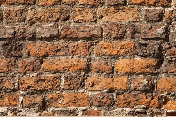 red bricks wall Stock photo © MiroNovak