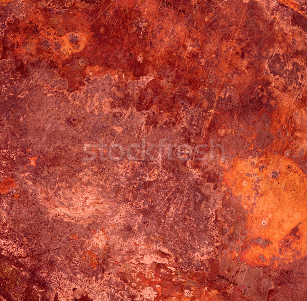 red rust metal background Stock photo © MiroNovak