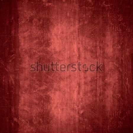 Czerwony gipsu cementu ziarna wzór tekstury Zdjęcia stock © MiroNovak