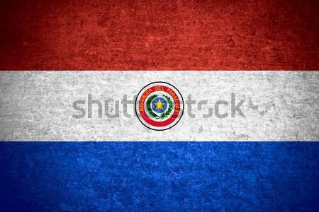 flag of Paraguay Stock photo © MiroNovak