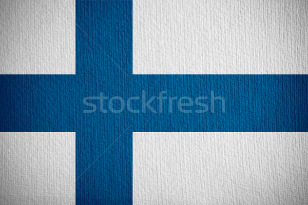 flag of Finland Stock photo © MiroNovak