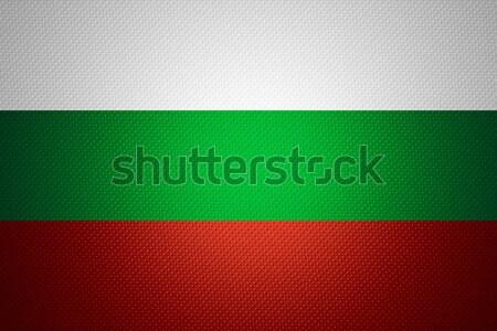Vlag Bulgarije banner papier Stockfoto © MiroNovak